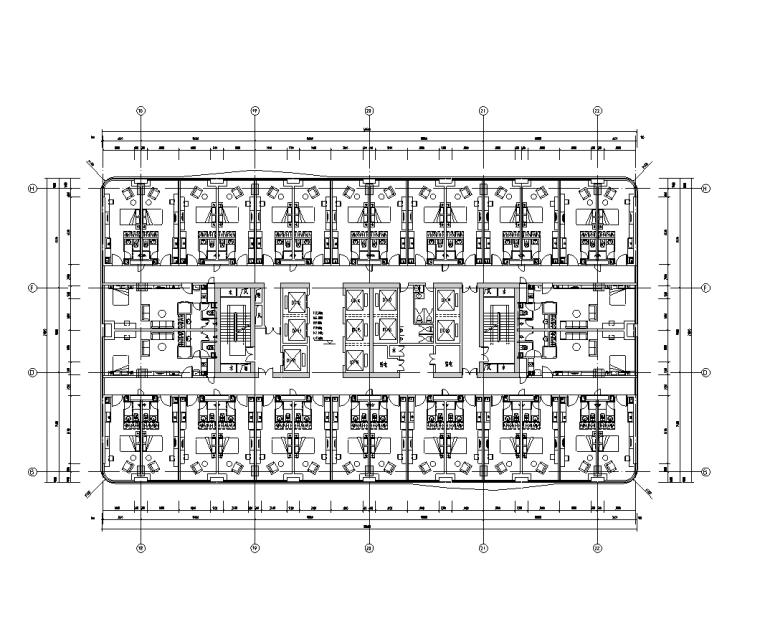 商业综合体弱电智能化施工图纸