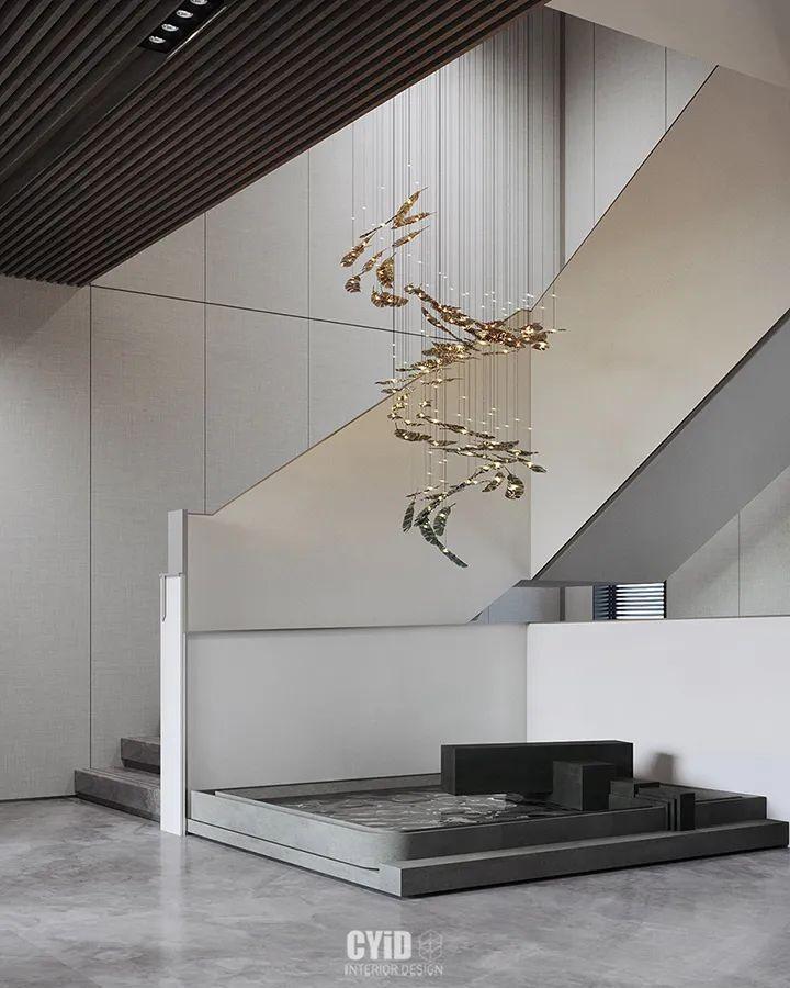 800㎡现代风格别墅设计,大宅的极致简约_1