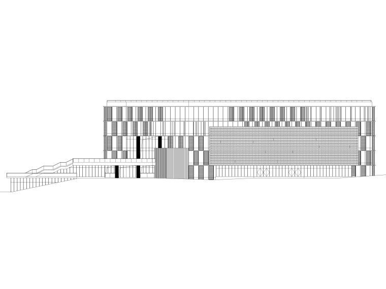 [南京]银行创新基地公共建筑施工图+BIM模型