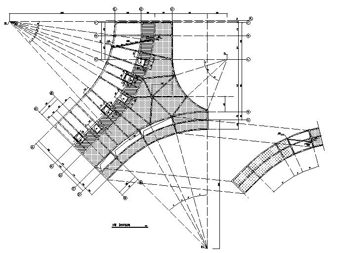 [浏阳]4层框架结构小学教学楼结施图纸2019