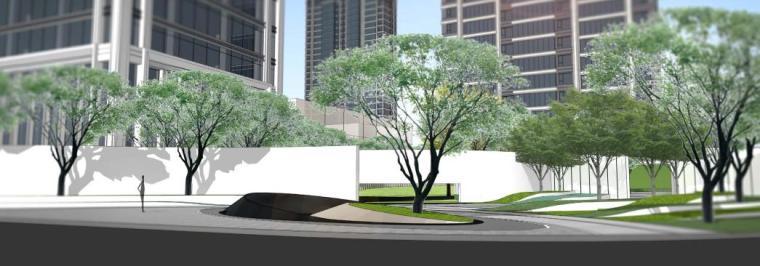 [云南]昆明现代风格住宅区景观设计方案
