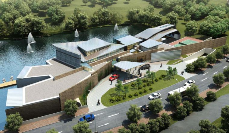 [成都]麓湖生态城会所建筑设计方案文本