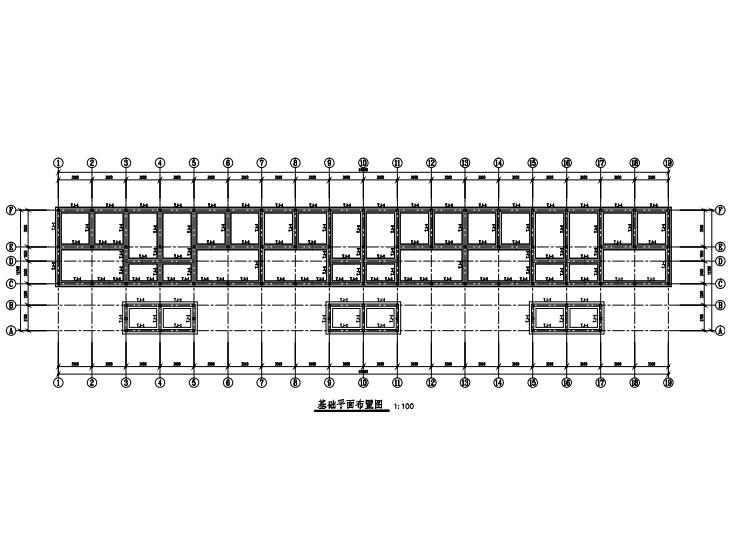 单层砌体结构坡屋顶住宅结构施工图2016