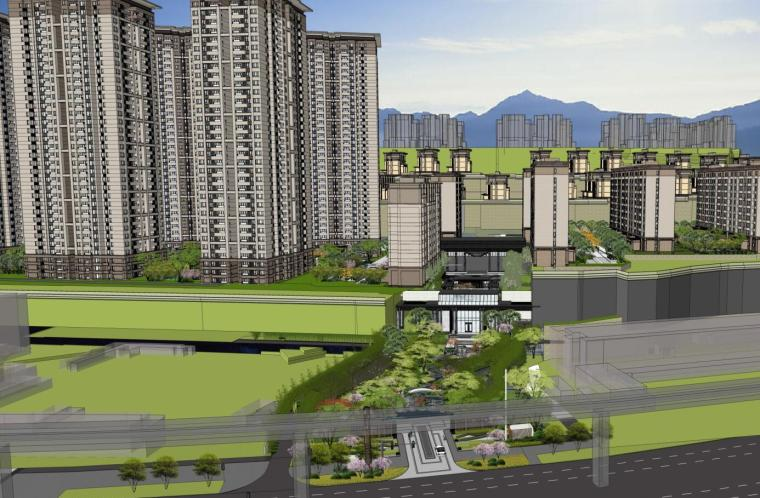 [重庆]知名企业大区住宅景观深化方案设计