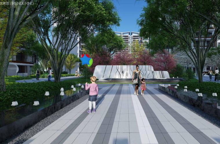 [四川]知名企业现代时尚风住宅景观方案