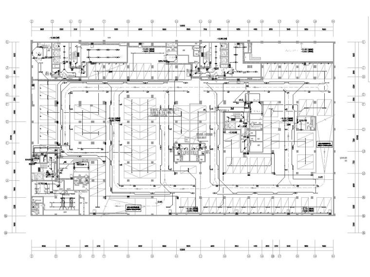 [广东]15层高校教学楼电气施工图(2018)-知识产权人才基地图纸电气含招标资料大全-1照明平面图