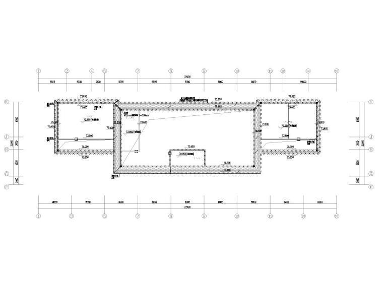 [广东]15层高校教学楼电气施工图(2018)-知识产权人才基地图纸电气含招标资料大全-4防雷平面图