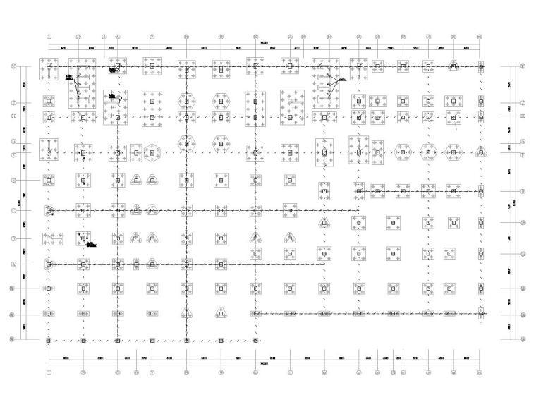 [广东]15层高校教学楼电气施工图(2018)-知识产权人才基地图纸电气含招标资料大全-6接地平面图