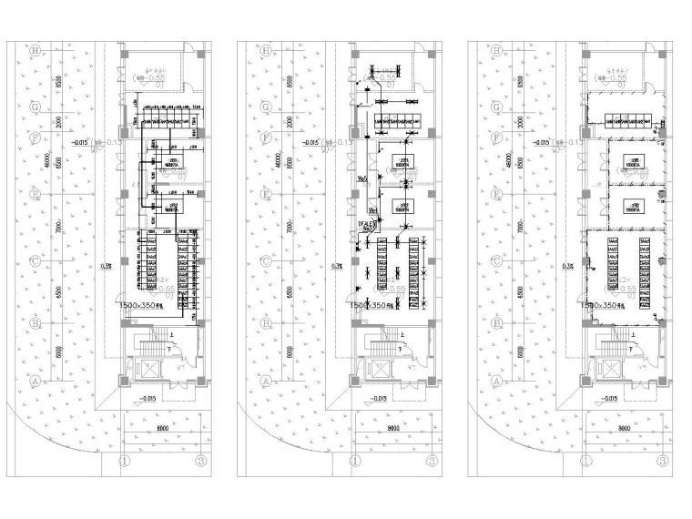 [广东]15层高校教学楼电气施工图(2018)-知识产权人才基地图纸电气含招标资料大全-7电房平面布置图