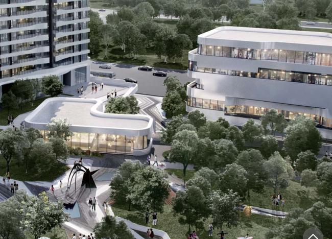 [成都]麓湖生态城汀院现代风格高层豪宅设计