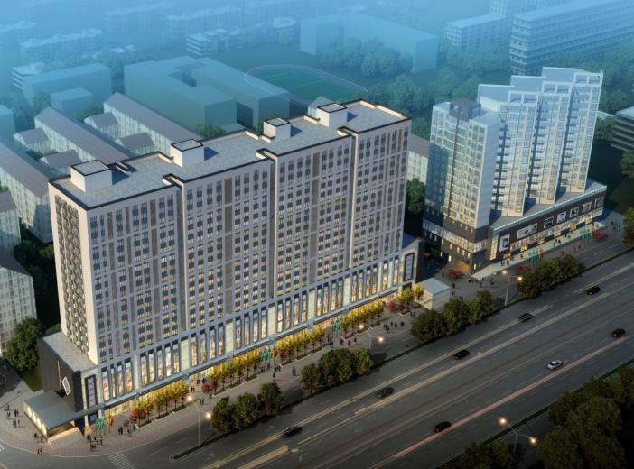 [北京]高层现代简约定向安置房项目投标文本