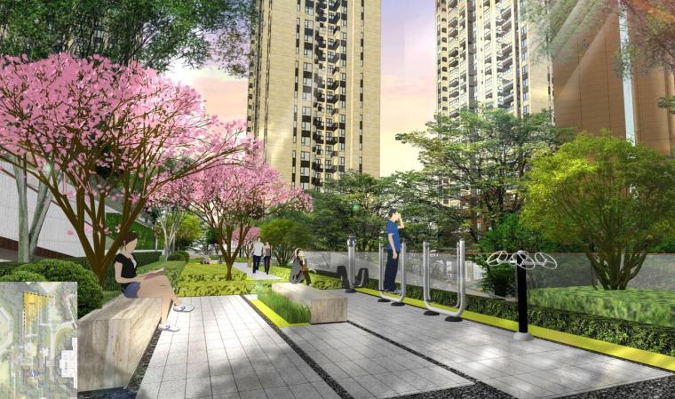 [陕西]知名企业大学城高端住宅景观方案