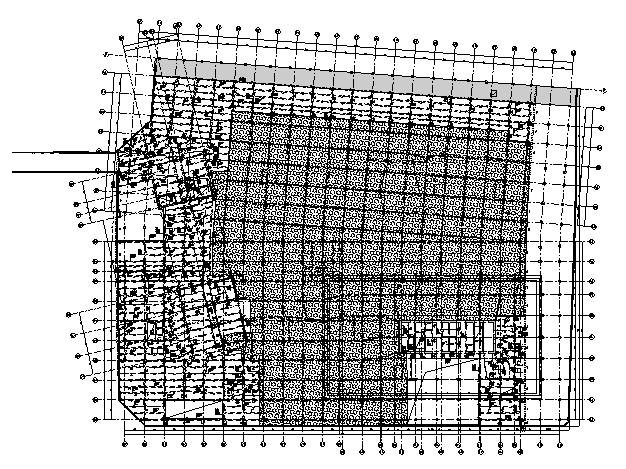 地下二层梁配筋图