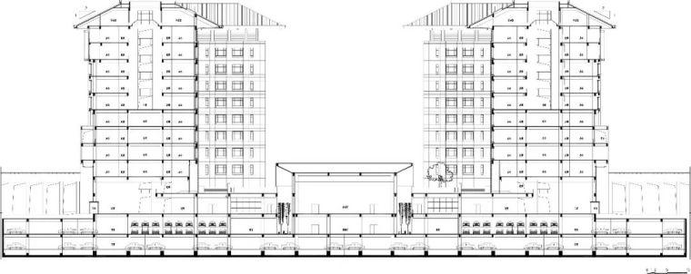 西安市行政中心|中国建筑学会建筑创作大奖_10