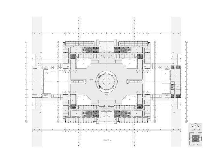 西安市行政中心|中国建筑学会建筑创作大奖_9