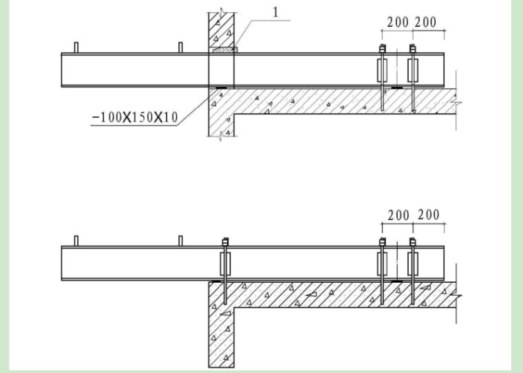悬挑式脚手架安全专项施工方案-木楔子图