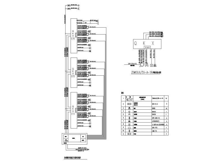 8自动跟踪定位射流灭火装置系统图