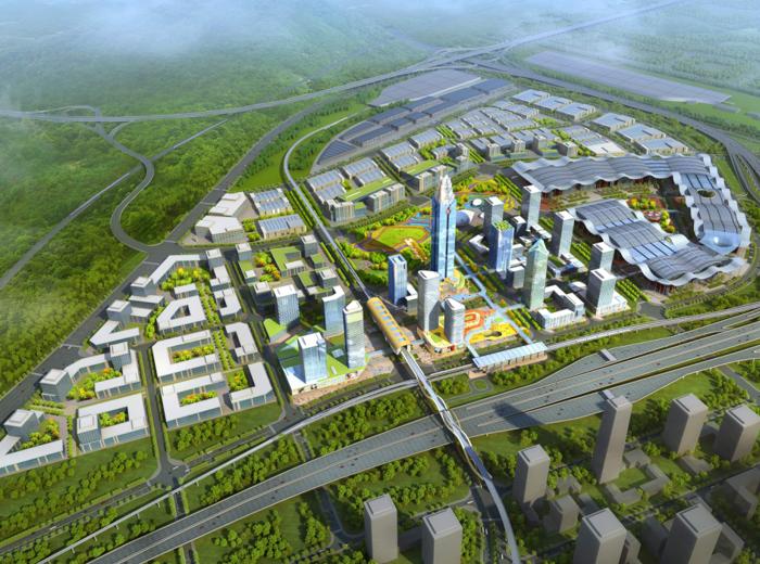 [云南]昆明空港商贸服务集聚区城市设计方案