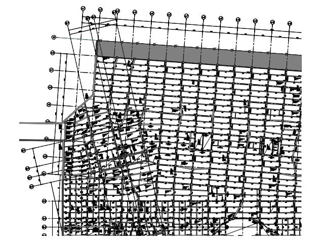 地下一层梁平面图