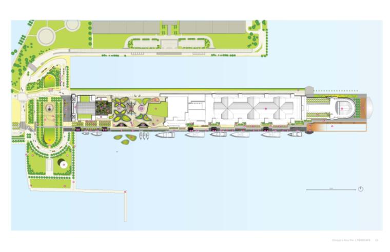 芝加哥海军码头国际竞赛入围方案合集