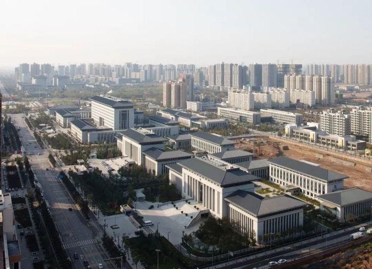 西安市行政中心|中国建筑学会建筑创作大奖_1