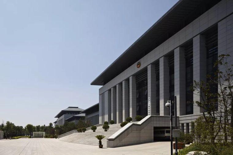 西安市行政中心|中国建筑学会建筑创作大奖_5