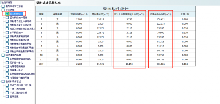 PKPM-PC装配率计算结果靠谱不?_9