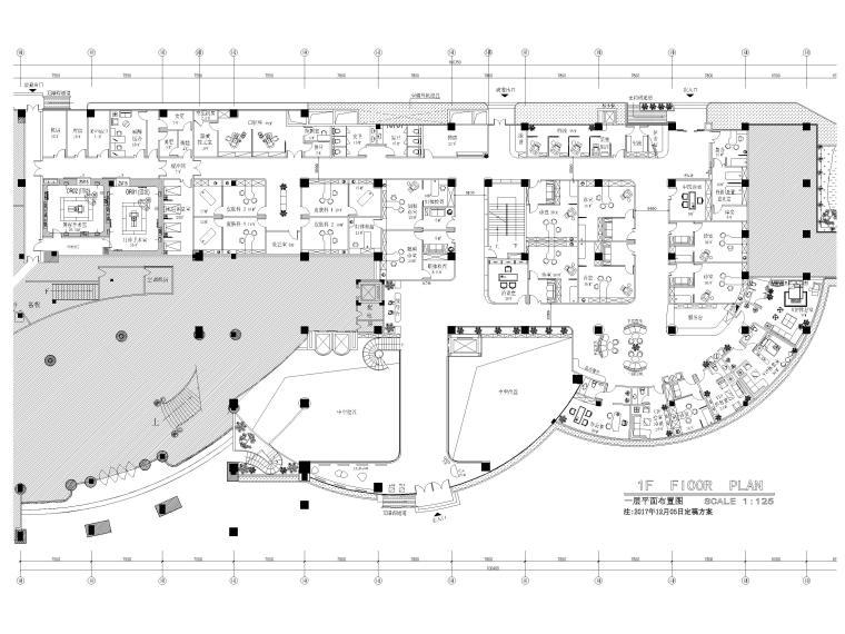 [广州]雅合医疗机构装修工程施工图+实景图