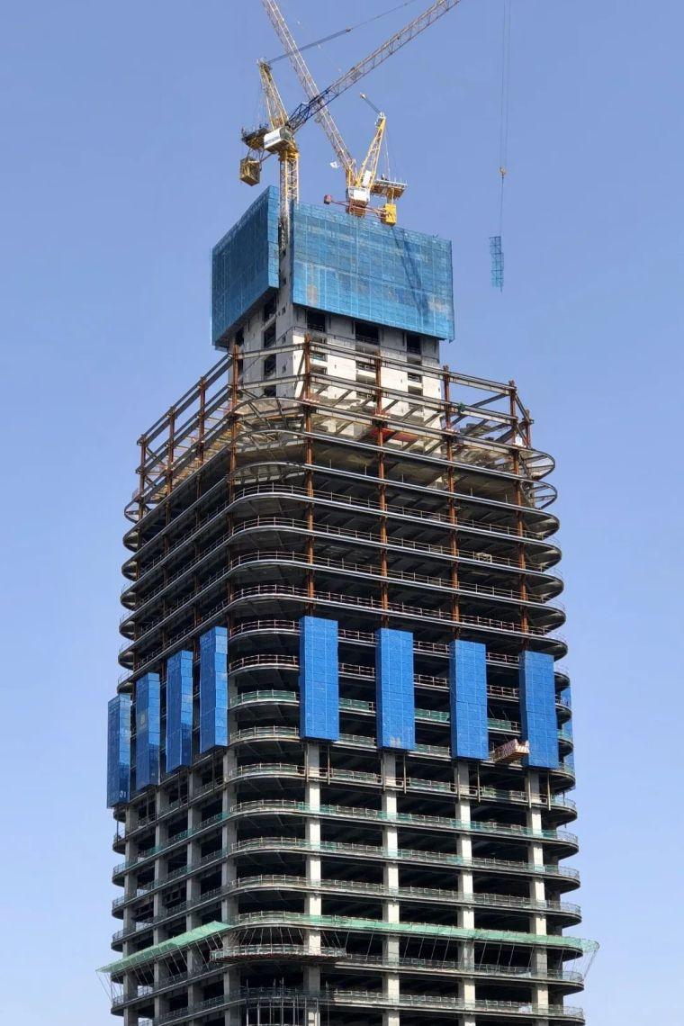 钢-混凝土混合结构实例(在建)
