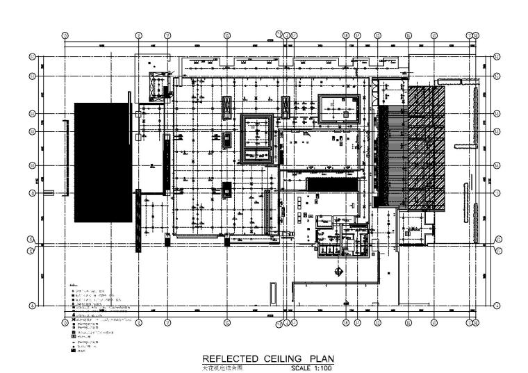 天花机电综合图