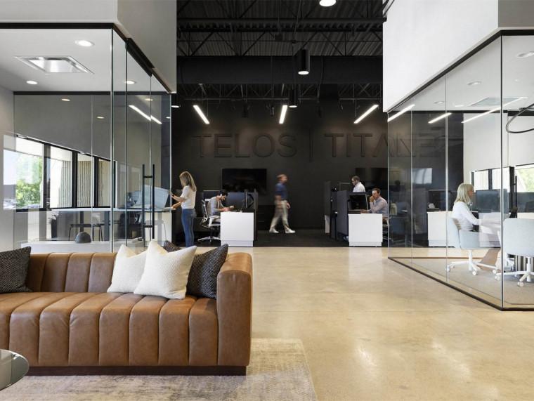 美国建筑公司Telos510㎡办公室