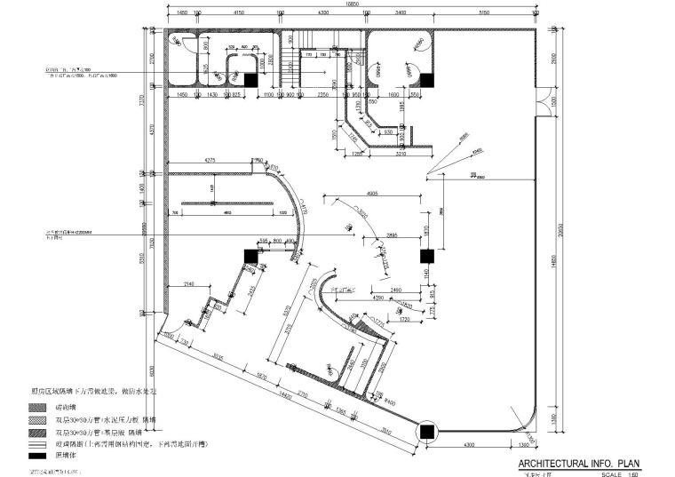 隔间尺寸图1