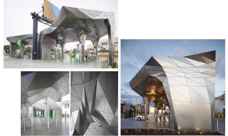[上海]现代风格商业广场景观设计方案