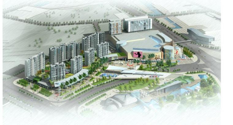 [湖南]长沙商业综合体广场景观设计方案