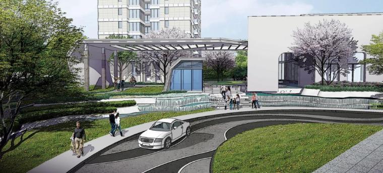 [重庆]现代风格商业街景观设计方案