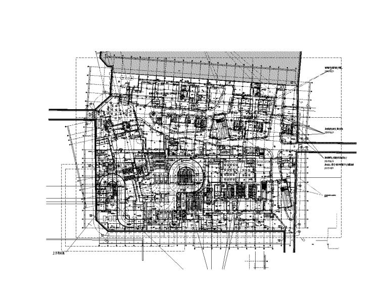 21万平五星级酒店办公商业电气图纸(2019)