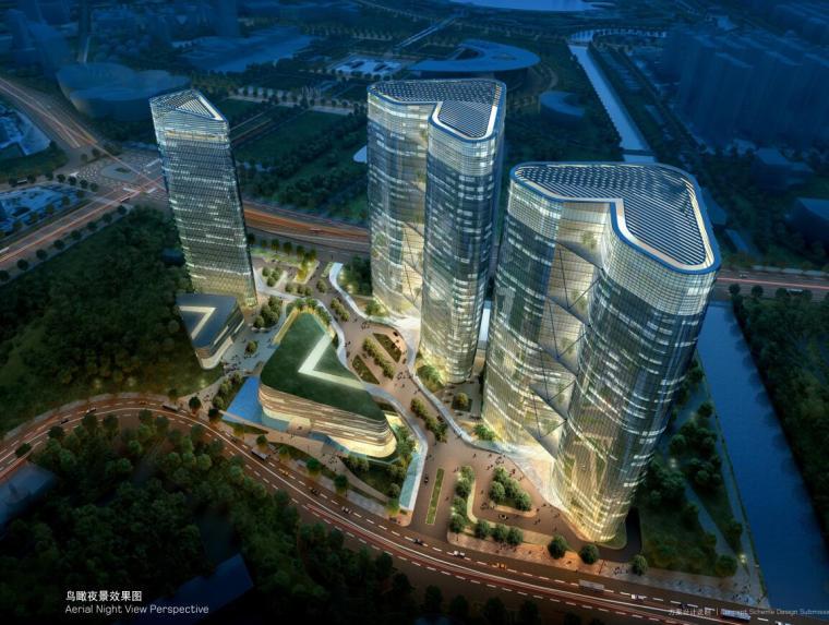 [上海]超高层竹园金融商业办公建筑方案