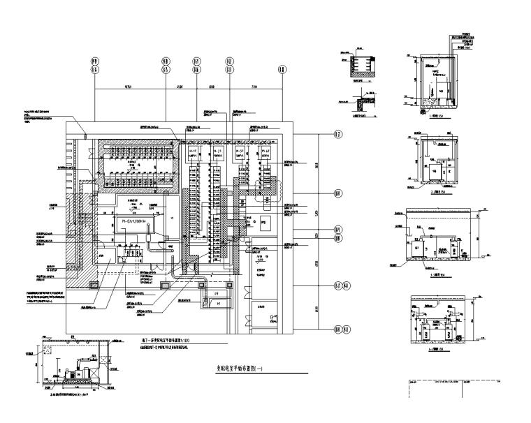 变配电室平面布置图(一)