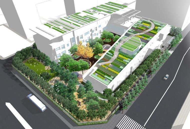 [北京]国际幼儿园景观设计方案