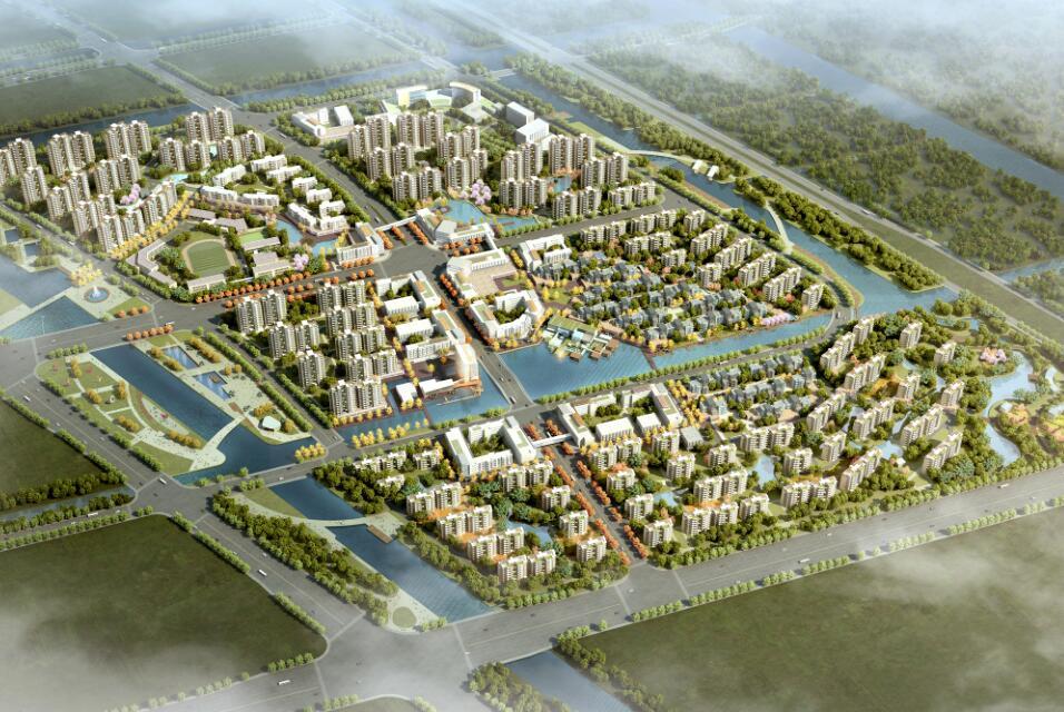 [上海]国际养老健康城规划及建筑方案设计