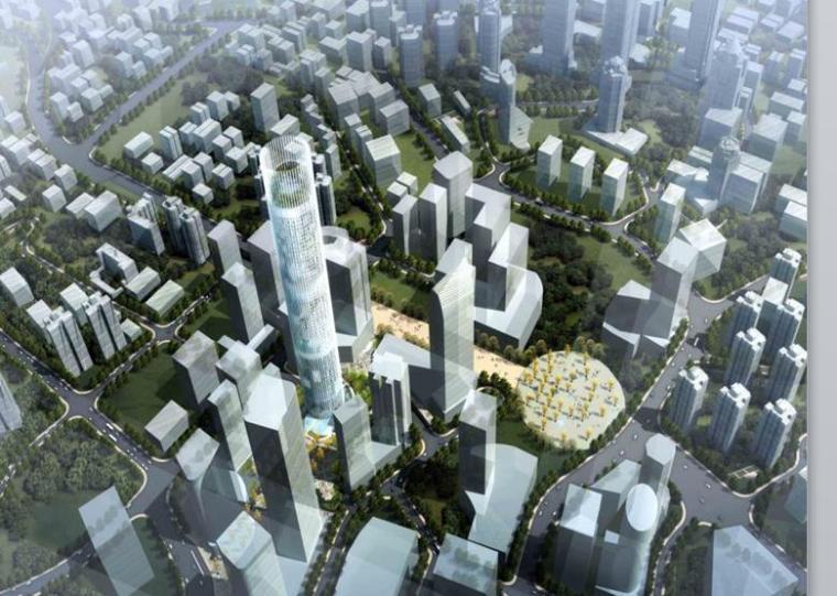 [重庆]现代风格商业广场景观设计方案