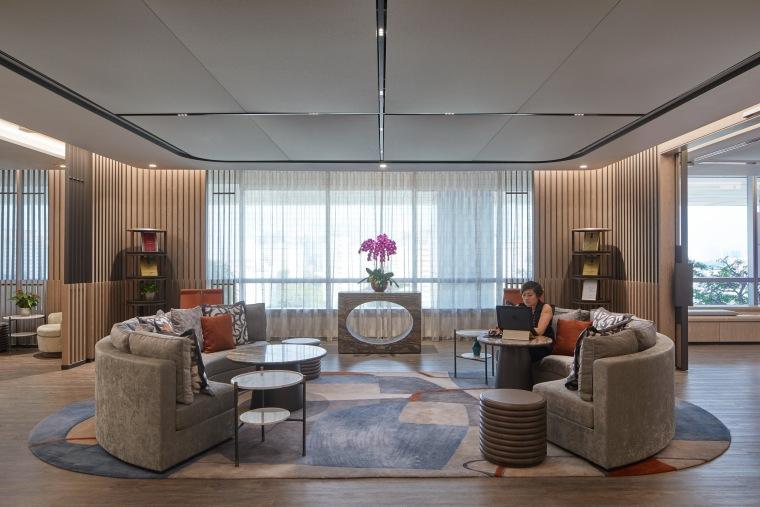 """""""大房间""""——Aedas新加坡办公室,by Aedas Interiors_2"""