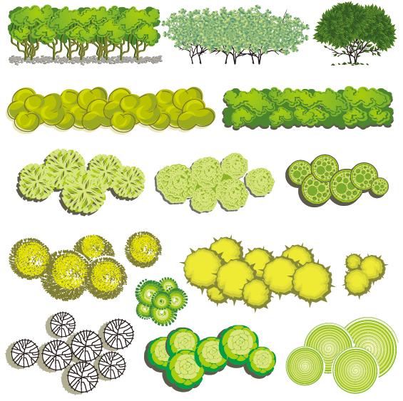4-青春系彩平图植物素材(20)预览