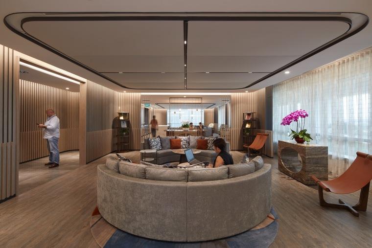 """""""大房间""""——Aedas新加坡办公室,by Aedas Interiors_3"""
