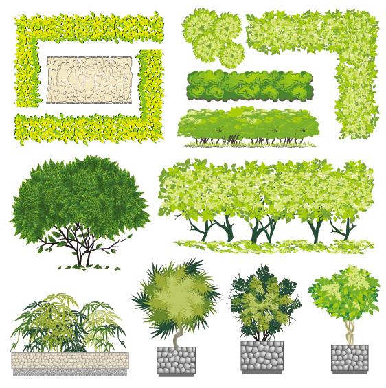 5-青春系彩平图植物素材(25)预览