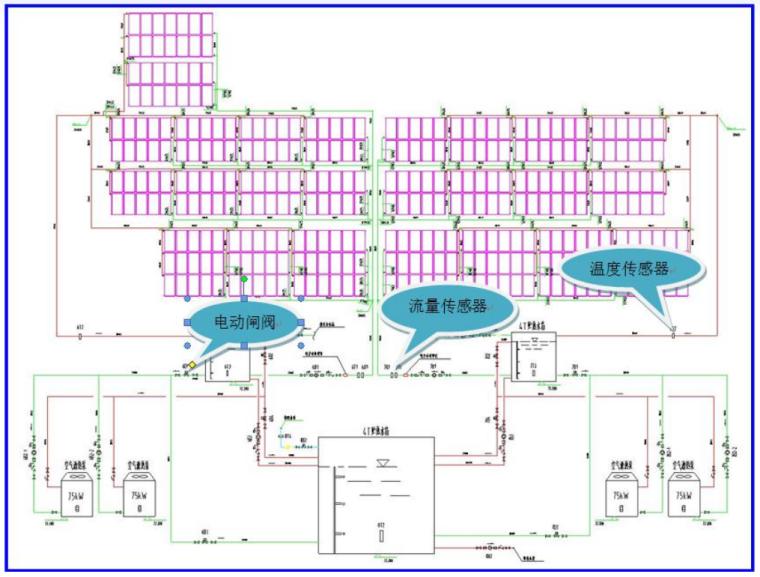 提高太阳能空气源智能热水系统热效率