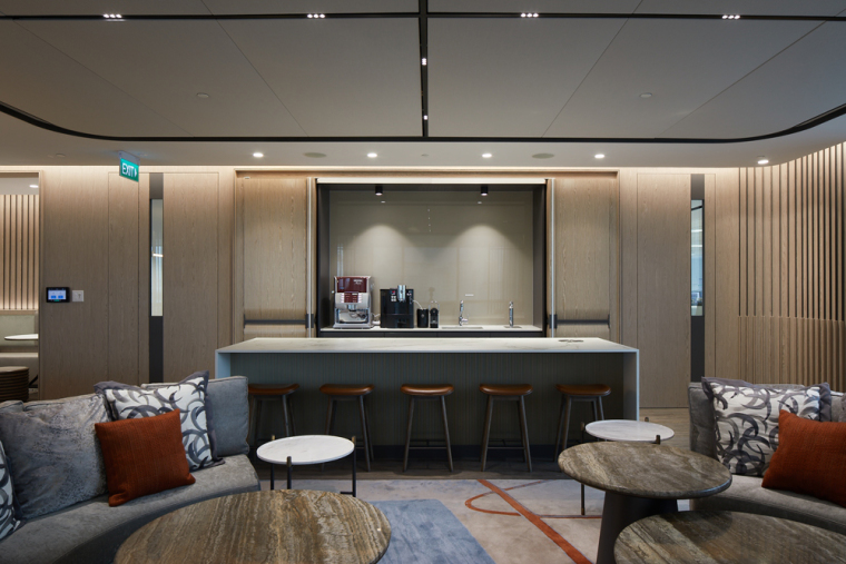 """""""大房间""""——Aedas新加坡办公室,by Aedas Interiors_10"""