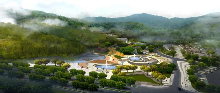 [江苏]南京风景区景观设计方案