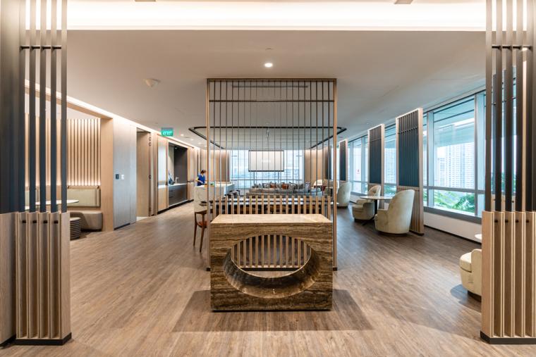 """""""大房间""""——Aedas新加坡办公室,by Aedas Interiors_6"""