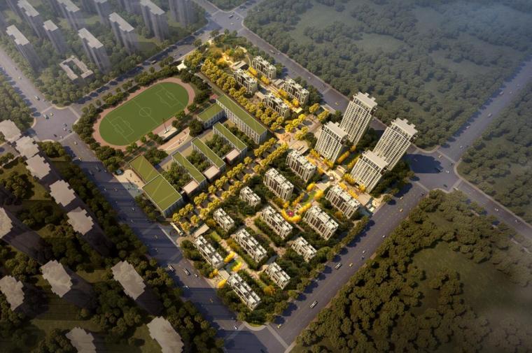 [安徽]合肥滨湖高层住宅建筑规划方案设计